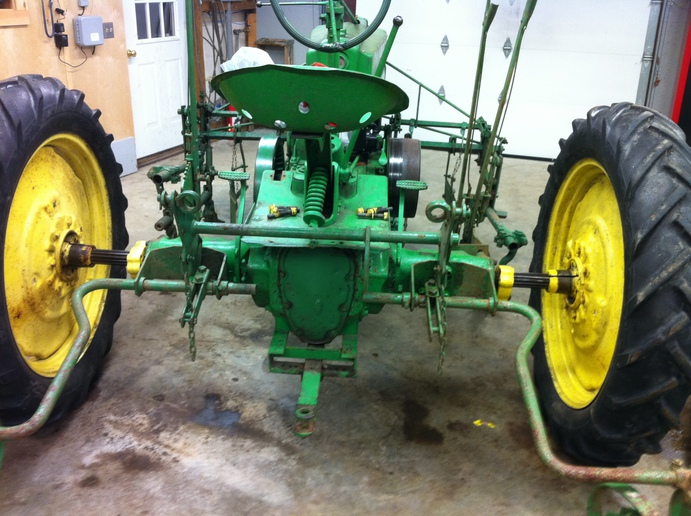 JD H Cultivator Help - Yesterday's Tractors