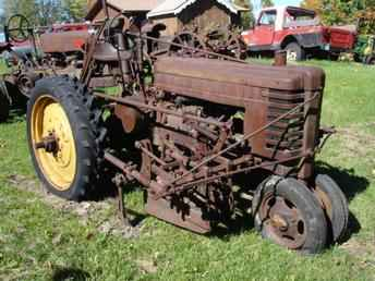 Used Farm Tractors for Sale: John Deere H With Cultivators ...