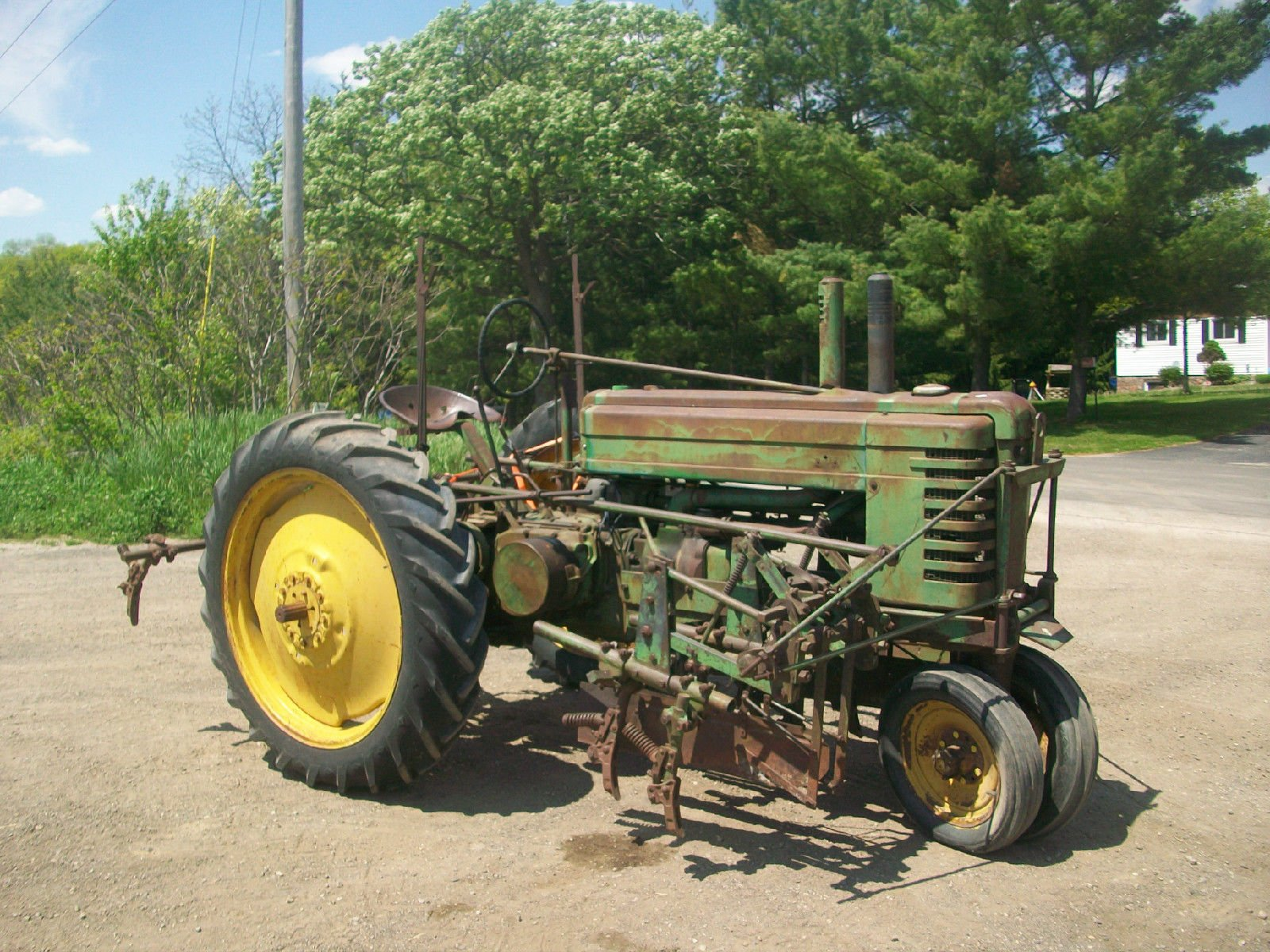 1939 John Deere B Antique Tractor NO RESERVE Cultivators ...