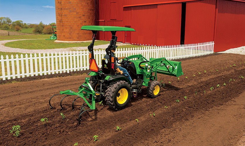 How to use a one-row cultivator. » Frontier Tips Notebook