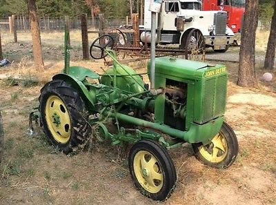 Unstyled L John Deere 1937 Tractor With Cultivators | What ...