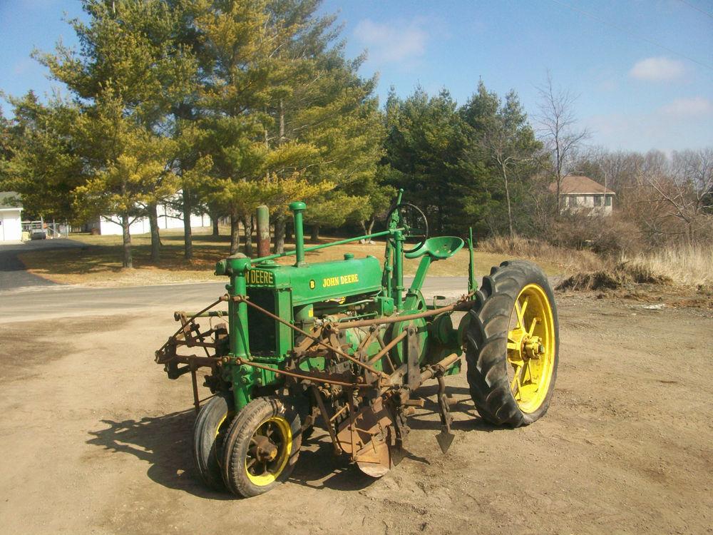 1937 John Deere Unstyled B Antique Tractor NO RESERVE ...