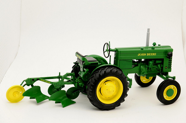 John Deere M with Plow | Flickr - Photo Sharing!