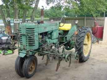 John Deere B with front mount row cultivator | Old Farm ...
