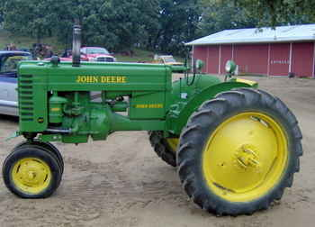 Used Farm Tractors for Sale: John Deere MT With Cultivator ...