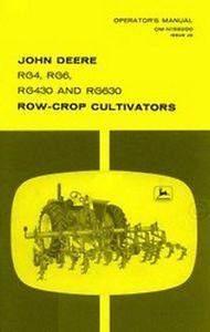John Deere RG4 RG6 RG430 RG630 Row-Crop Cultivator ...