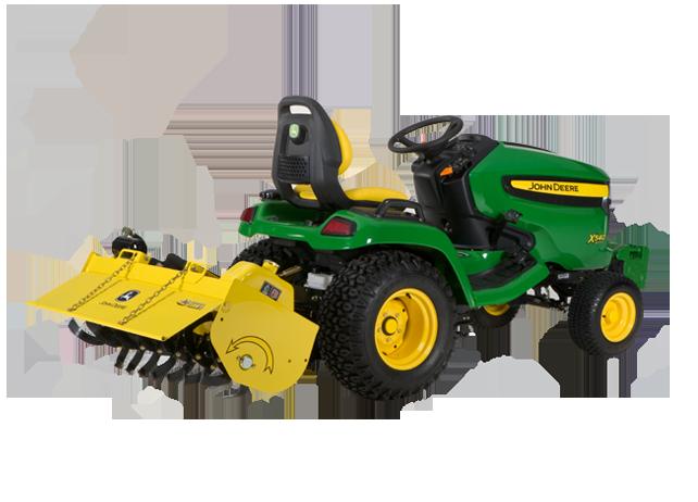 John Deere 42-inch Hydraulic Tiller Gardening & Ground ...