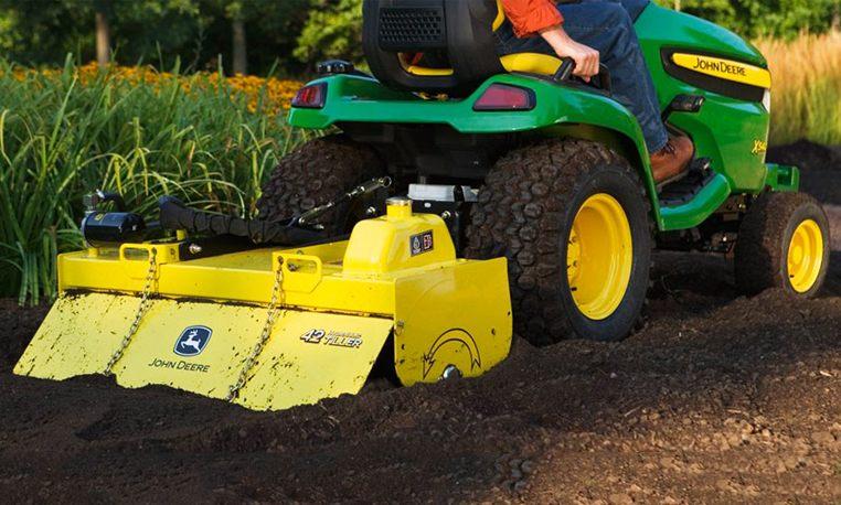 John Deere Gardening & Ground Engagement Riding Lawn ...