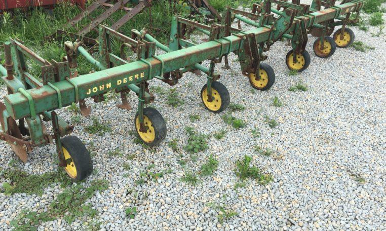 John Deere RM 6 Row Crop Cultivator   JD Green Parts ...