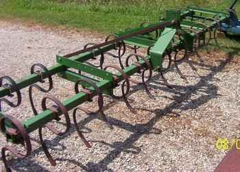 Used Farm Tractors for Sale: John Deere S-Tine Cultivator ...