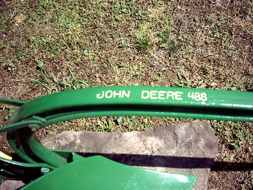 John Deere 488 Walking Plow - Georgia Outdoor News Forum