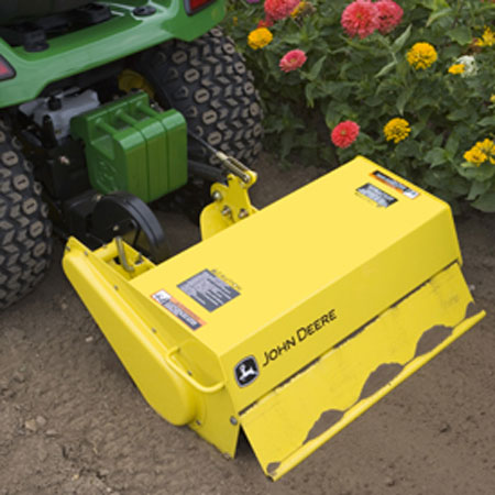 John Deere 30-inch Rotary Tiller for X500 series Multi ...