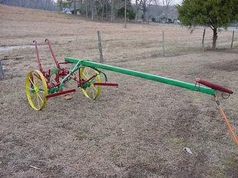 Antique Tractors - John Deere Walking Cultivator Picture