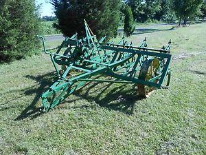 Antique Tractors - 1930s-1940s John Deere CC Field Cultivator