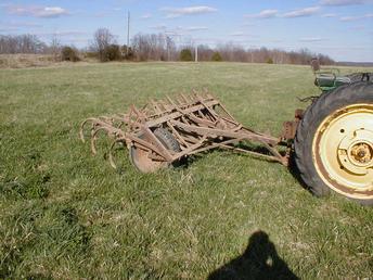 Small John Deere Field Cultivator - TractorShed.com