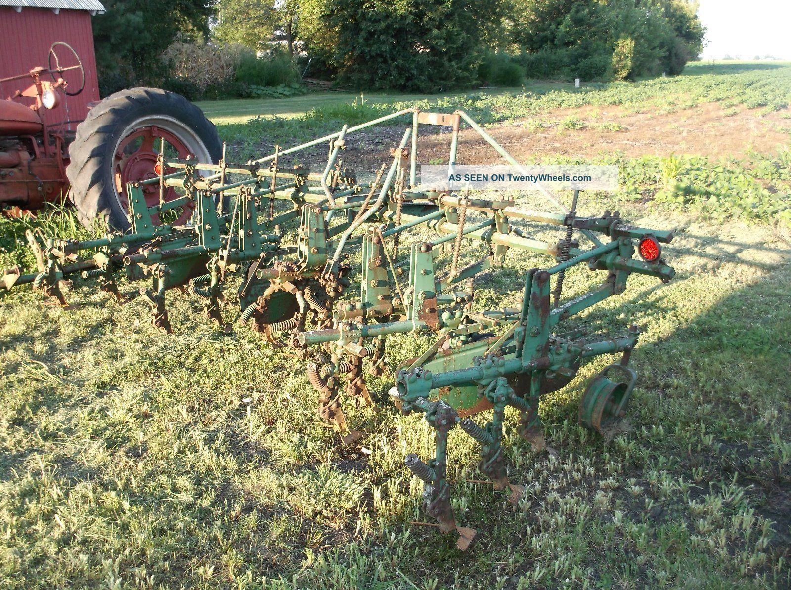 John Deere 4 Row Cultivator Vintage Antique