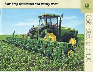 John Deere 856 886 400 Row-Crop Cultivators Rotary Hoes ...