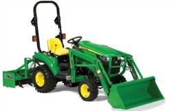 John Deere 1023E Tractor cover, john deere 1023E tractor ...