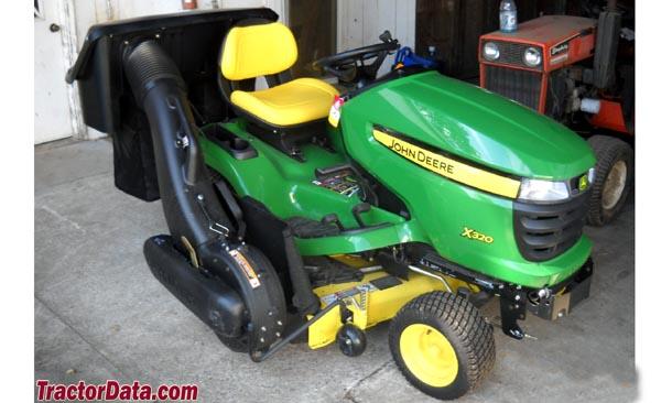 TractorData.com John Deere X320 tractor photos information