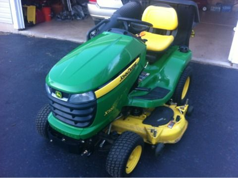 John deere x300 bagger for sale