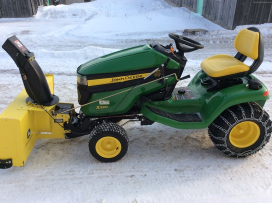 2014 John Deere X320 Lawn & Garden and Commercial Mowing ...
