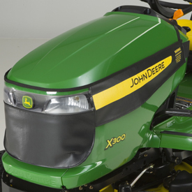 John Deere X300 Series Winter Grille Cover AM136691