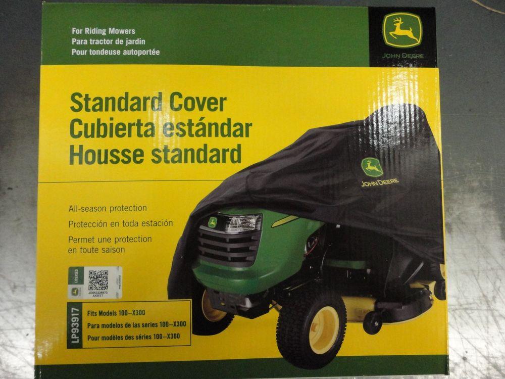 John Deere Genuine OEM Standard Mower Cover LP93917 fits ...