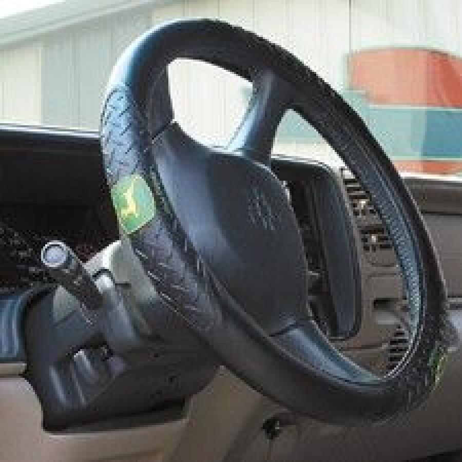 John Deere Steering Wheel Cover | RunGreen.com