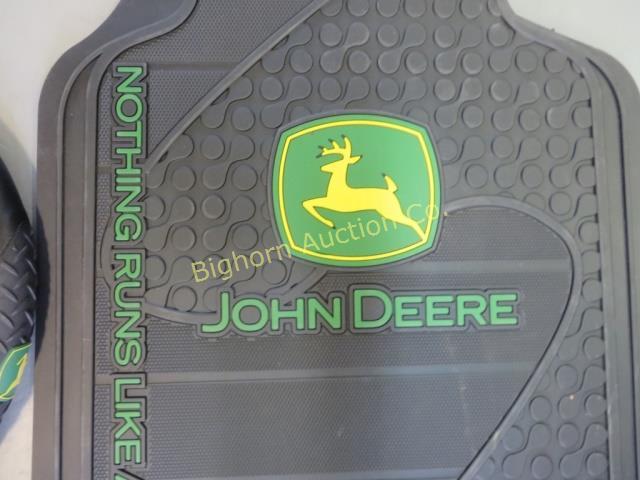 New John Deere Floor Mats & Steering Wheel Cover