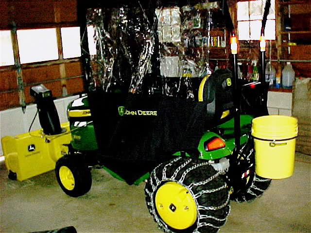 Grill Cover: John Deere Winter Grill Cover