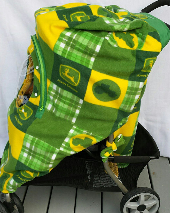 John Deere Winter Time Baby Cozy Hand Made by ...