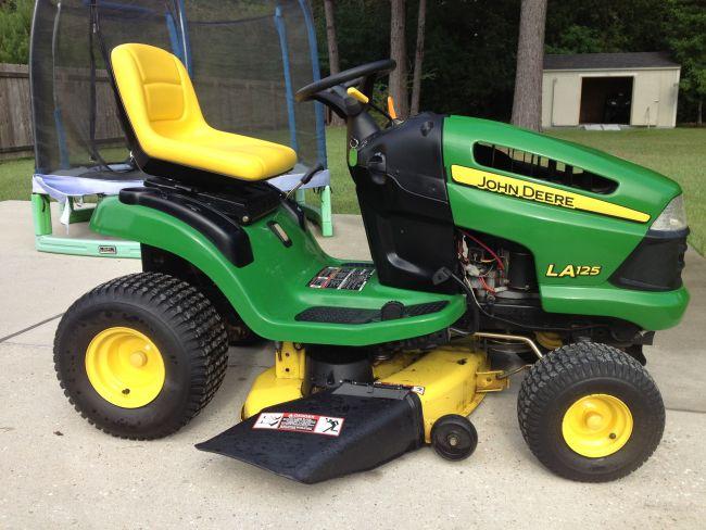 2008 John Deere LA125 42 inch deck 21 hp Lawn Mower For ...