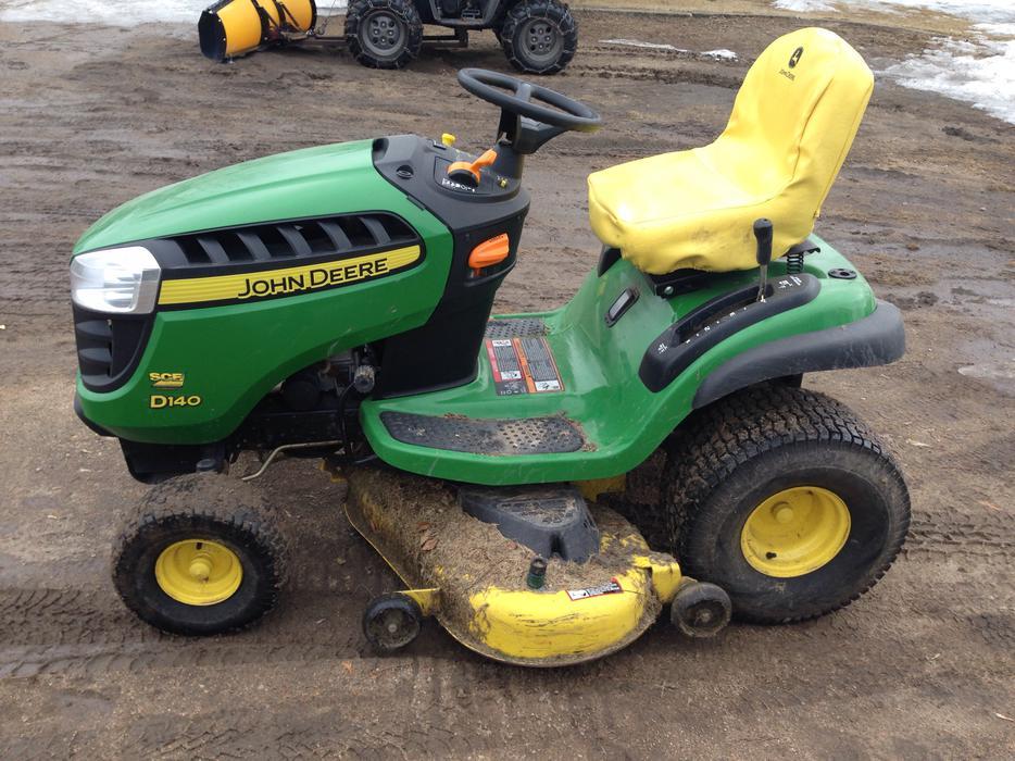 2012 John Deere D140 Garden Tractor Rural Regina, Regina ...