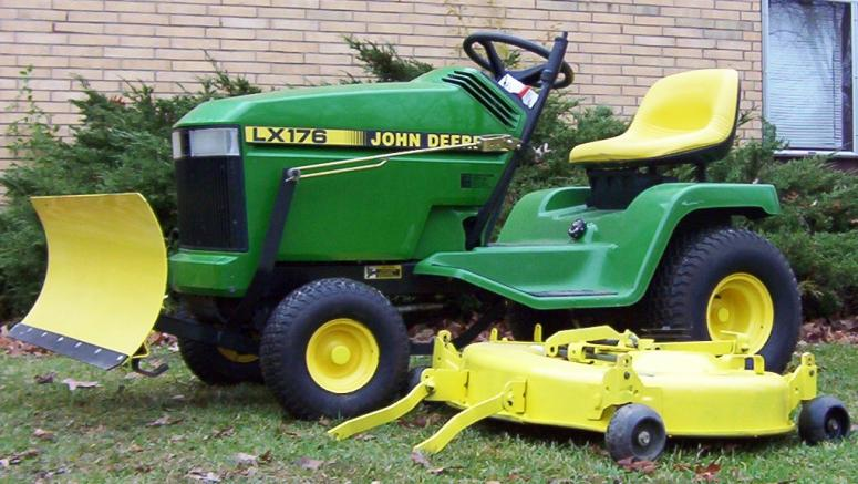 LX176 snow blade - MyTractorForum.com - The Friendliest ...
