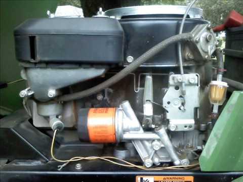 John Deere LX176 - YouTube