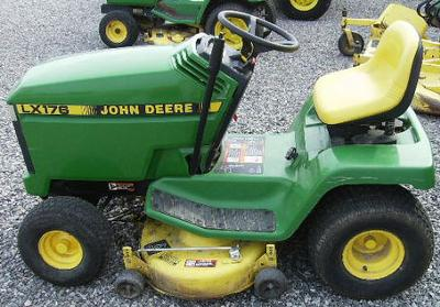 A John Deere LX176 Success Story