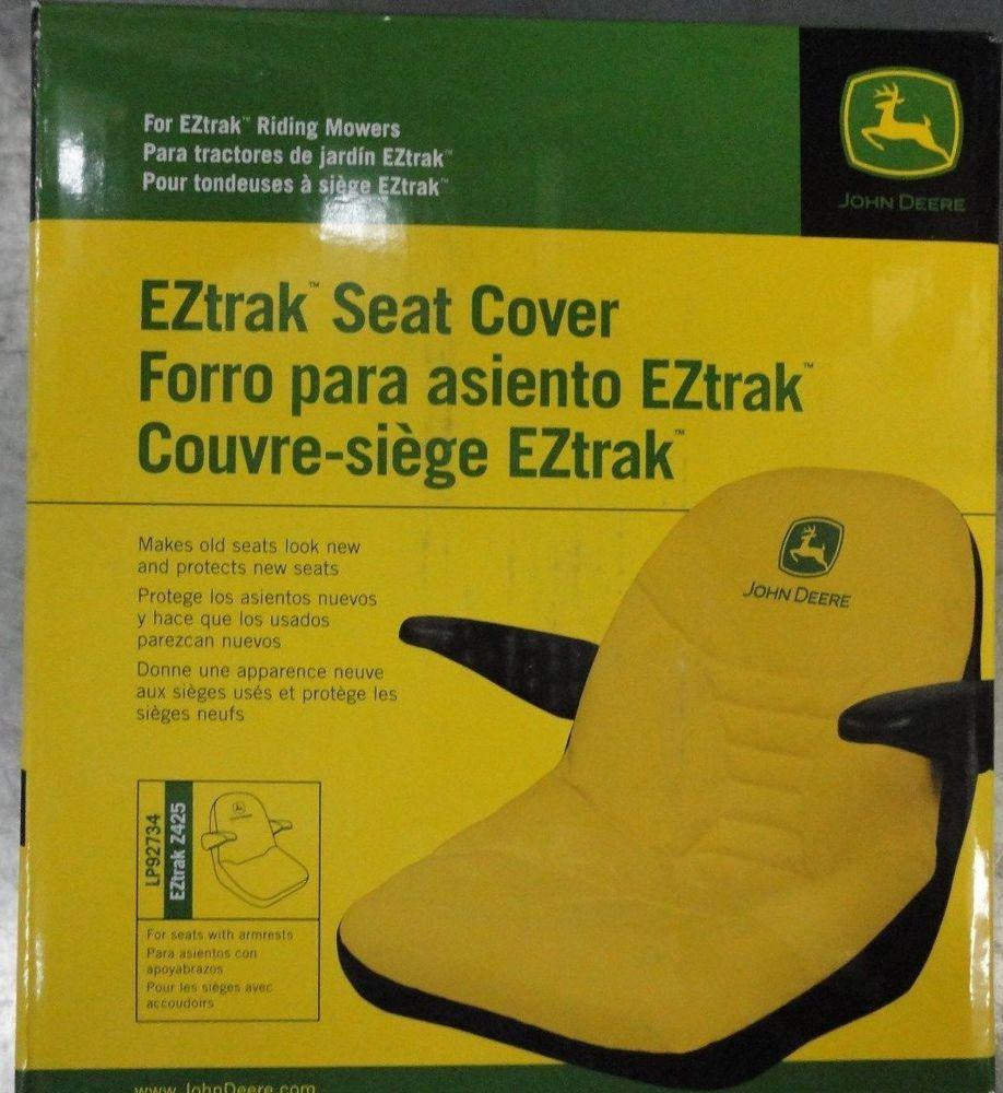 JOHN DEERE OEM Seat Cover LP92734 for EZTrak zero turn ...