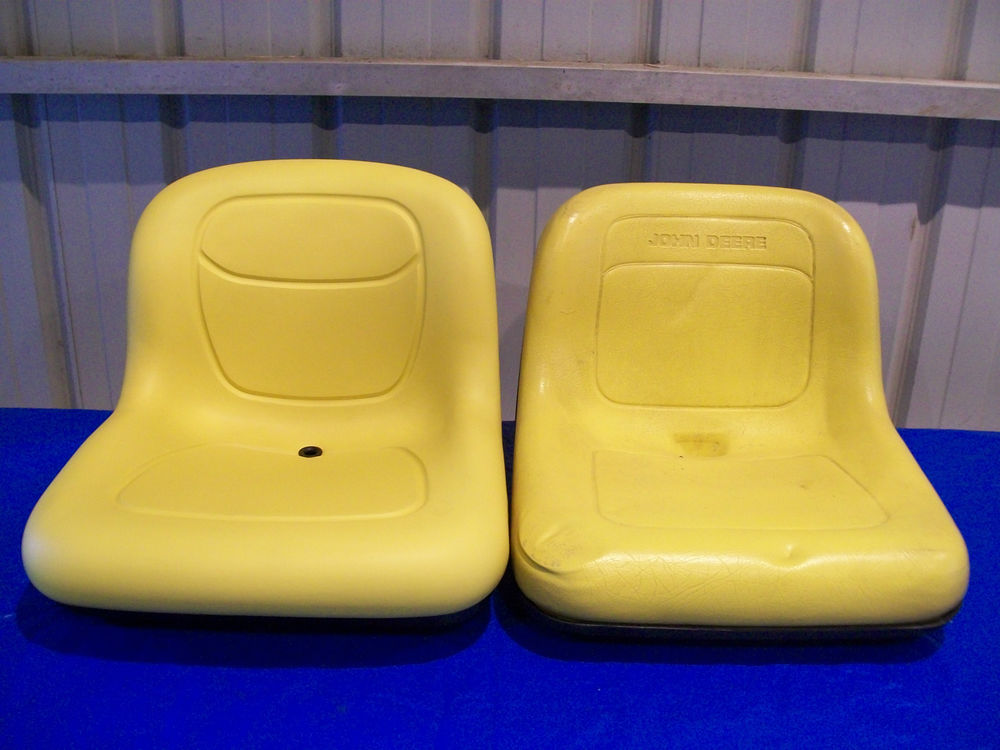 JOHN DEERE YELLOW SEAT FOR 2210 COMPACT TRACTORS WITH ...