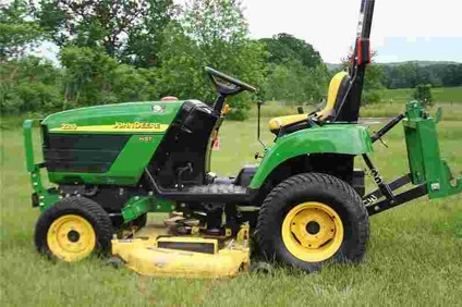 $13,500 2005 John Deere 2210 for sale in Colfax, Wisconsin ...