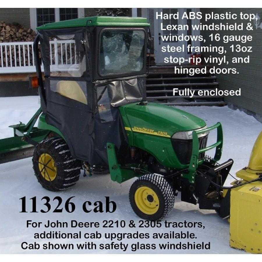 John Deere Tractor Hardtop Canopy 2210 & 2305   RunGreen.com