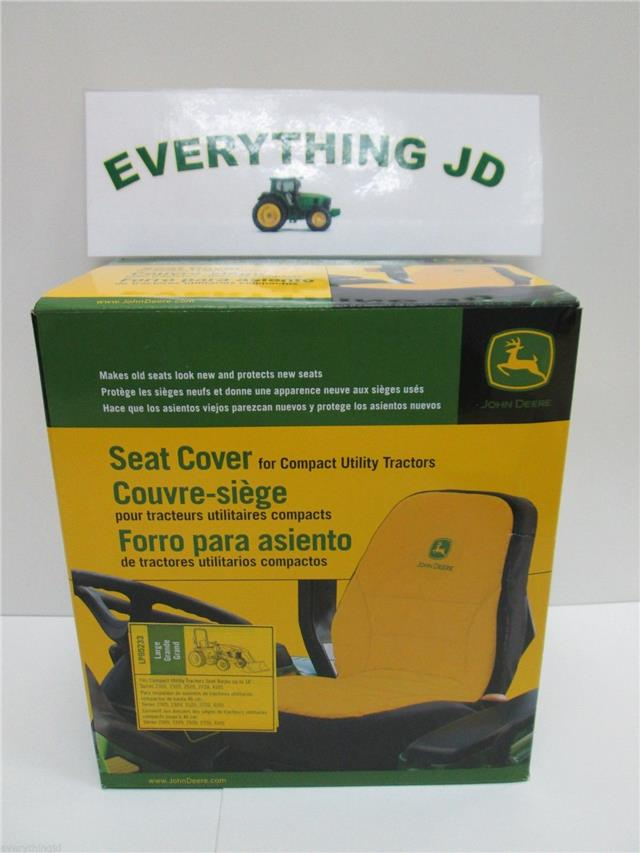 John Deere Large Seat Cover LP95233 | eBay