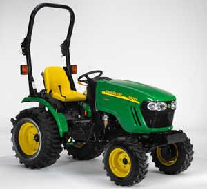 JOHN DEERE 2R SERIES SUB-COMPACT TRACTOR