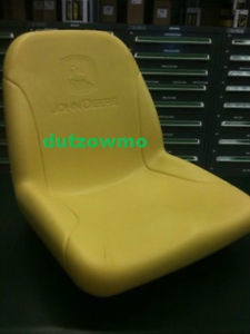 YELLOW SEAT FITS JOHN DEERE COMPACT TRACTORS 2305 2320 ...