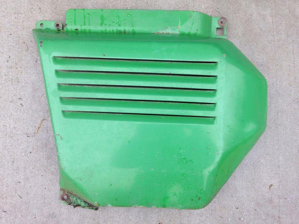 John Deere 212 Garden Tractor Left Side Cover | eBay