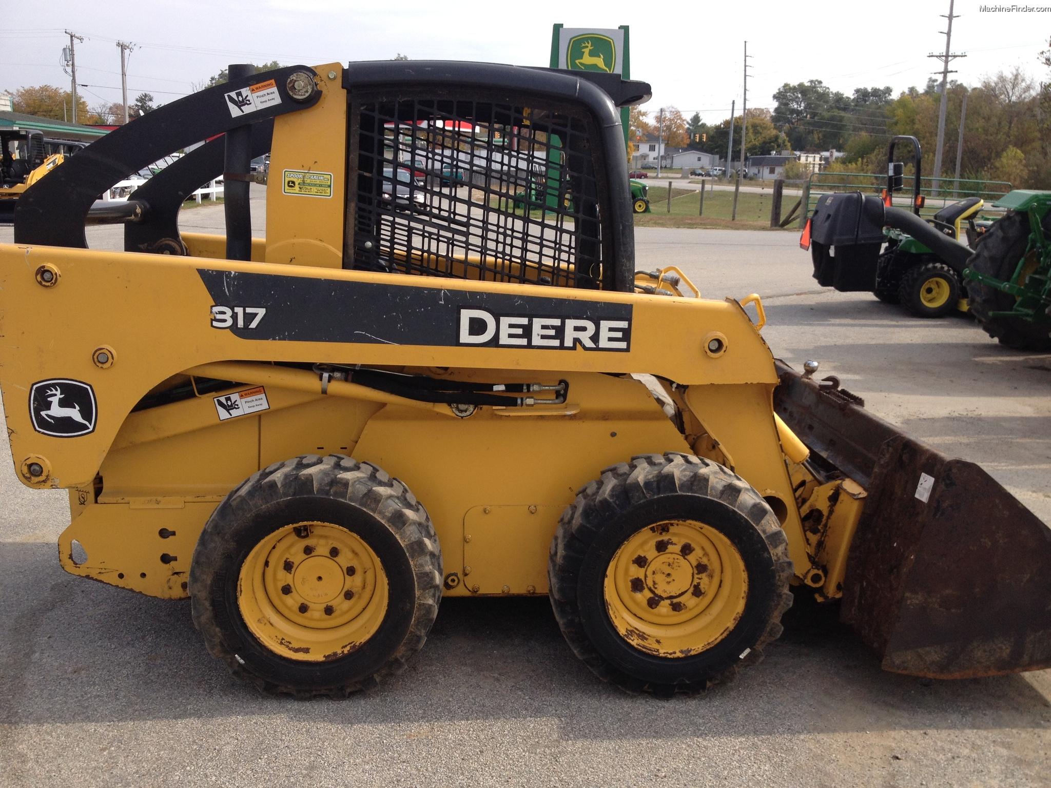 2007 John Deere 317 Skid Steer Loaders - John Deere ...