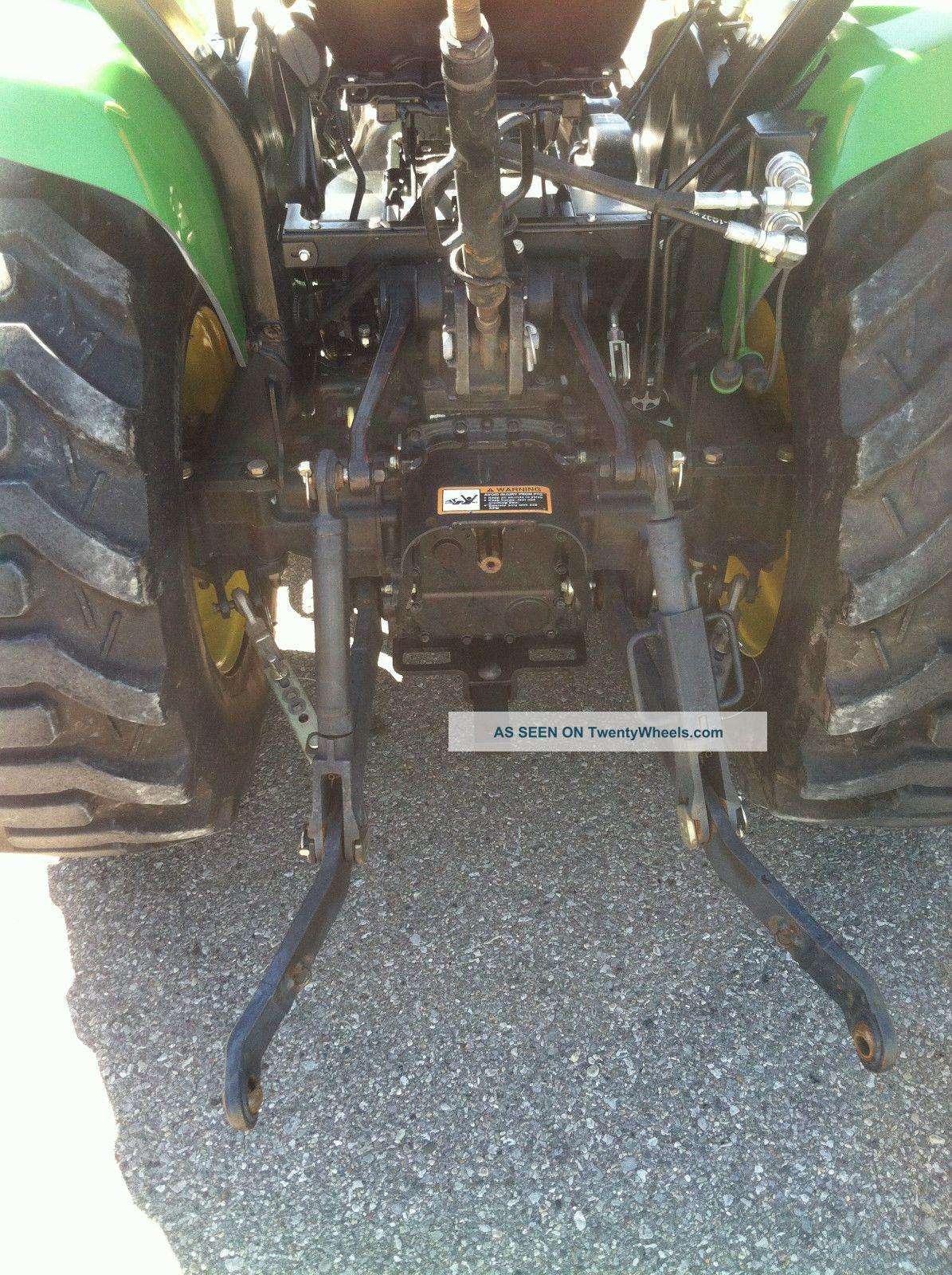 John Deere 3320 Compact Utility Tractor   Car Interior Design