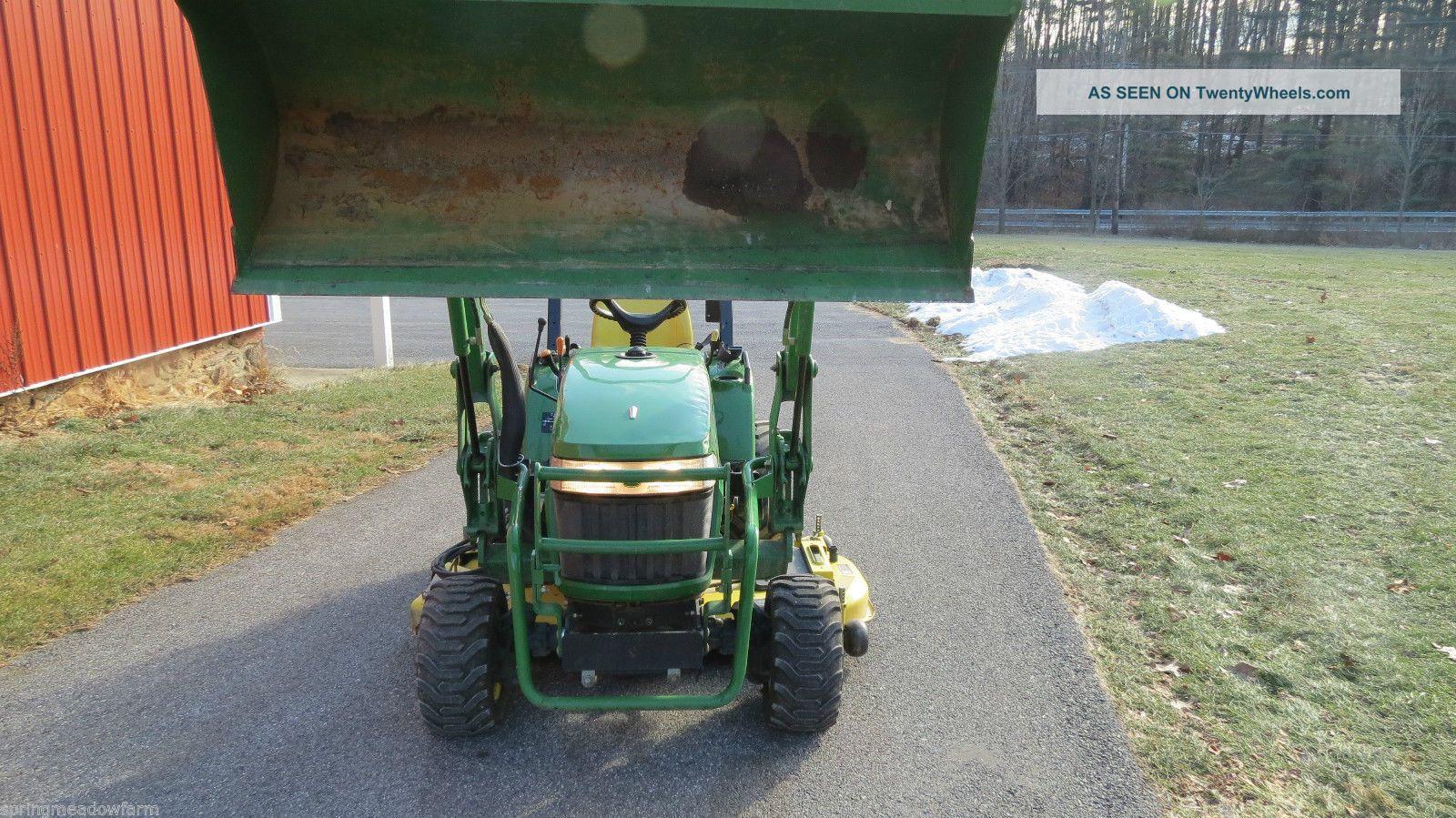 2007 John Deere 2305 4x4 Compact Utility Tractor W/ Loader ...
