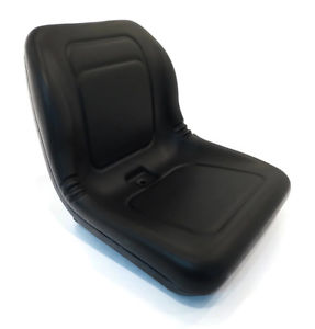 (1) Black HIGH BACK SEAT for John Deere Lawn Mower Models ...