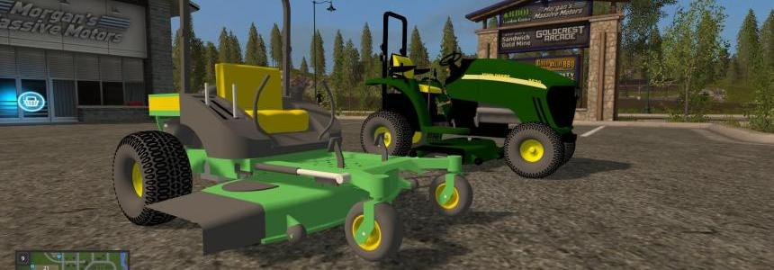 John Deere 3520 and Zero Turn v1.0 - Modhub.info