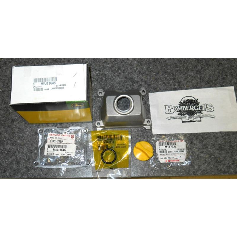John Deere Left Side valve cover case update for 425 445 ...